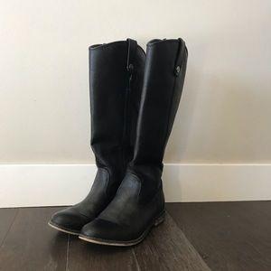 Black Rider Boot - Sz 7